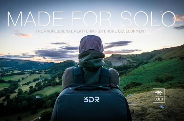 3D Robotics' Solo drone is about to get a lot more useful