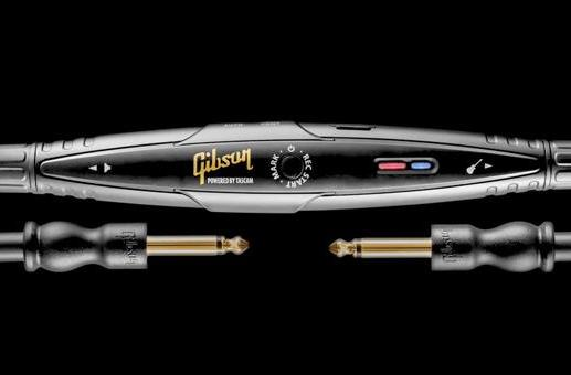 Gibson has crammed a digital recorder inside a guitar cable