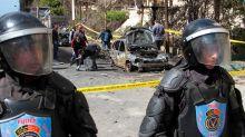 Policeman dead in pre-election bombing in Egypt's Alexandria