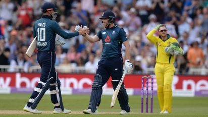 England hit ODI record 481 to thrash Australia