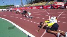 Athlé - ChF (H) : Zhoya échoue de peu sur 200 m, Golitin titré