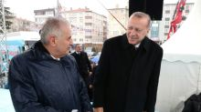 Turkey's ex-premier squares up for Istanbul election battle