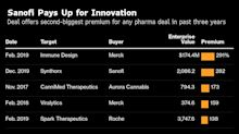 Drug Giants Pay Hefty Premiums as Cancer-Drug Race Heats Up