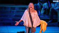 A Very Pregnant Kristen Bell Leads The Cast Of 'HAIR' At The Hollywood Bowl