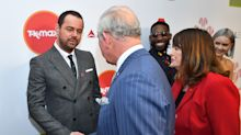 Danny Dyer tells Charles 'I'm related to you' at Prince's Trust Awards