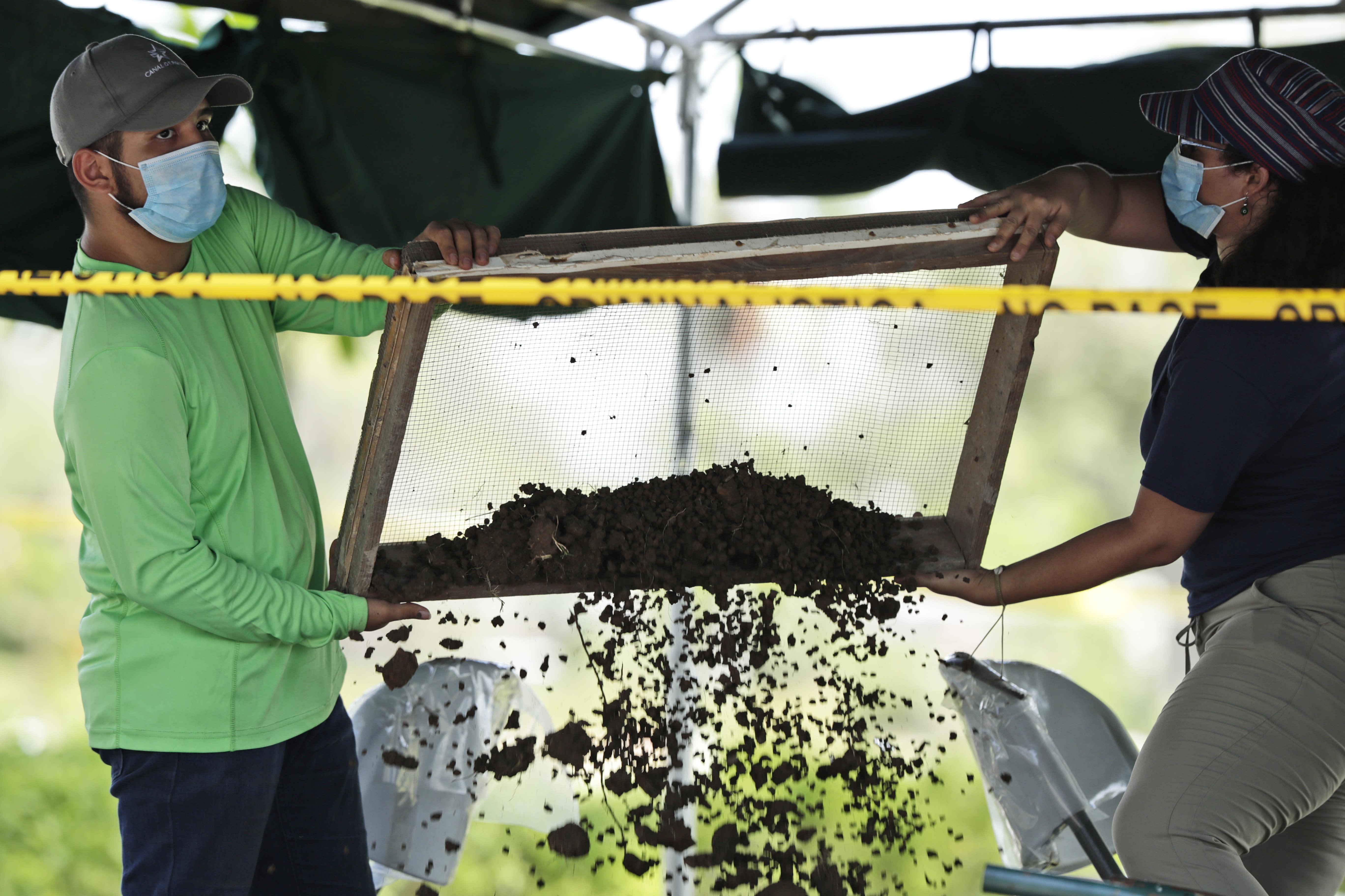 Panama US Invasion Victims Exhumations