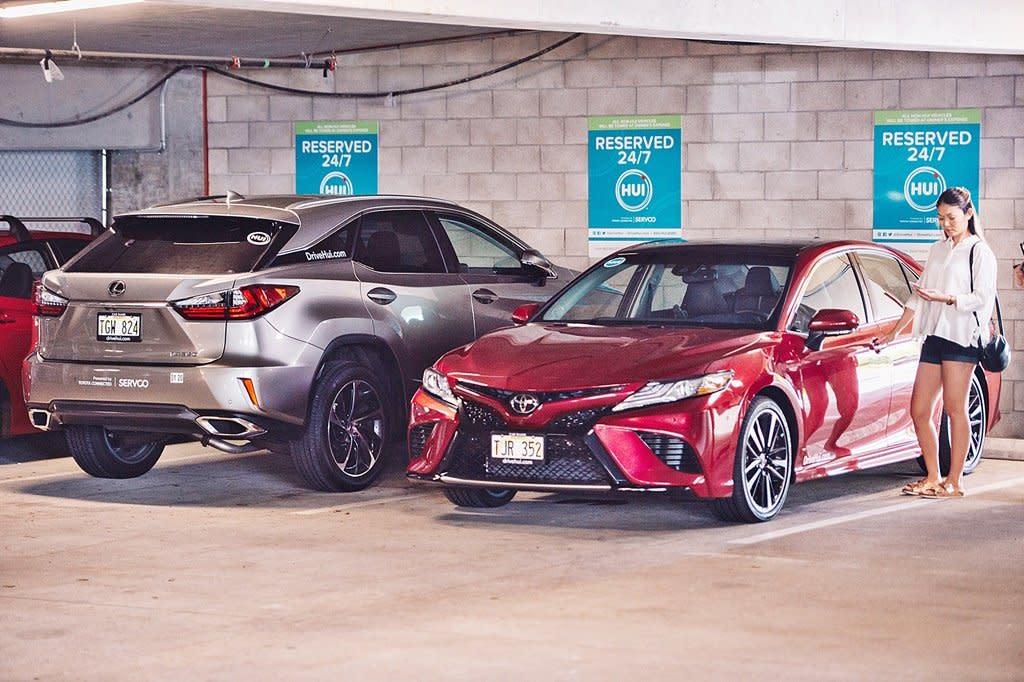 TOYOTA全力擴張汽車共享事業版圖,夏威夷推出App汽車共享系統