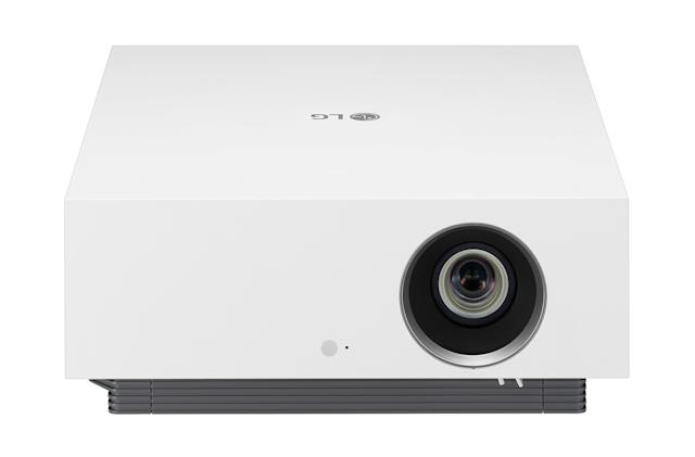 LG's latest 4K CineBeam laser projector adjusts to your room light