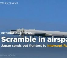 Japan scrambles fighters to intercept Russian and Chinese planes