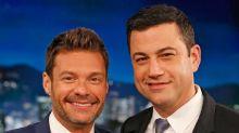 Jimmy Kimmel Mocks Ryan Seacrest for Wearing His Own Label