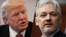 Trump suggests he sides with Assange over CIA on Russian hacking