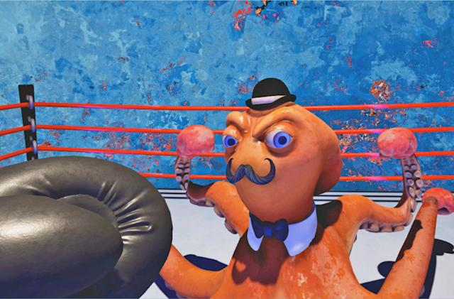 'Knockout League' brings cartoony boxing to virtual reality