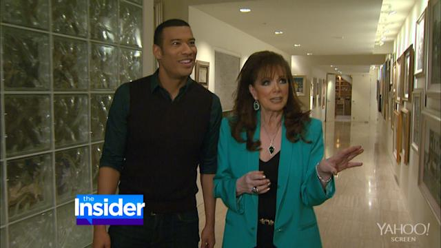 Inside the Home of Jackie Collins