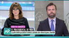Escándalo en el plató de Ana Rosa por el calificativo que Espinosa de los Monteros ha dedicado a Echenique