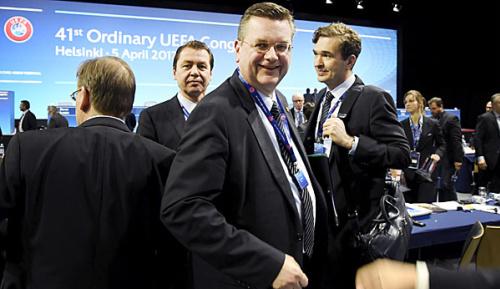 International: UEFA: Grindel zum Vizepräsident ernannt