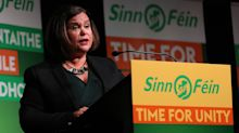 Sinn Fein will only join coalition government in return for Irish unity referendum, leader says amid surge in support