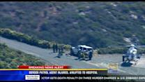 Border Patrol agent injured and airlifted to hospital