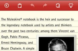 Moleskine debuts app for iPad and iPhone