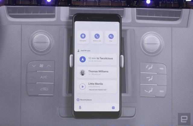 Android phones are getting an Assistant-powered driving mode