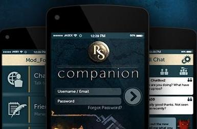 RuneScape launches companion app