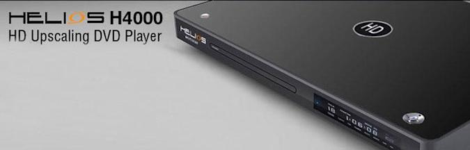 NeoDigits announces the HELIOS H4000 HD Upscaling DVD player