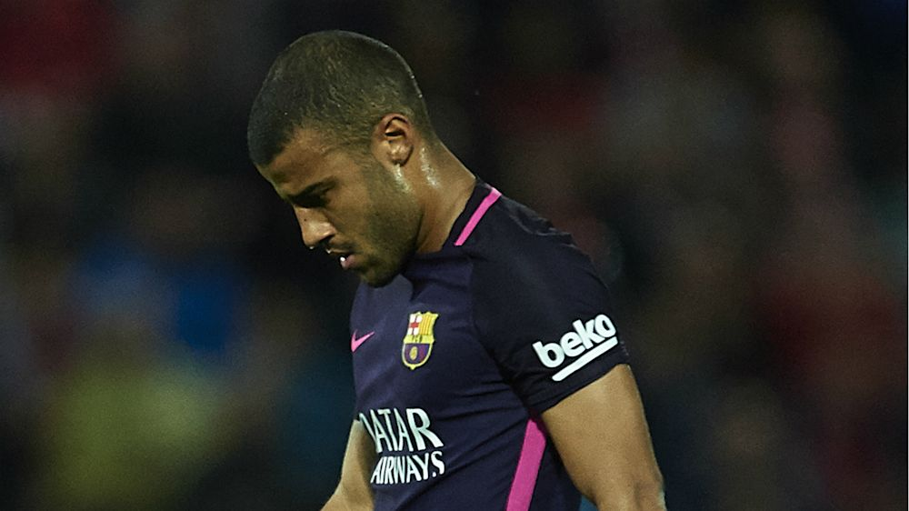 Barça, Rafinha absent quatre mois