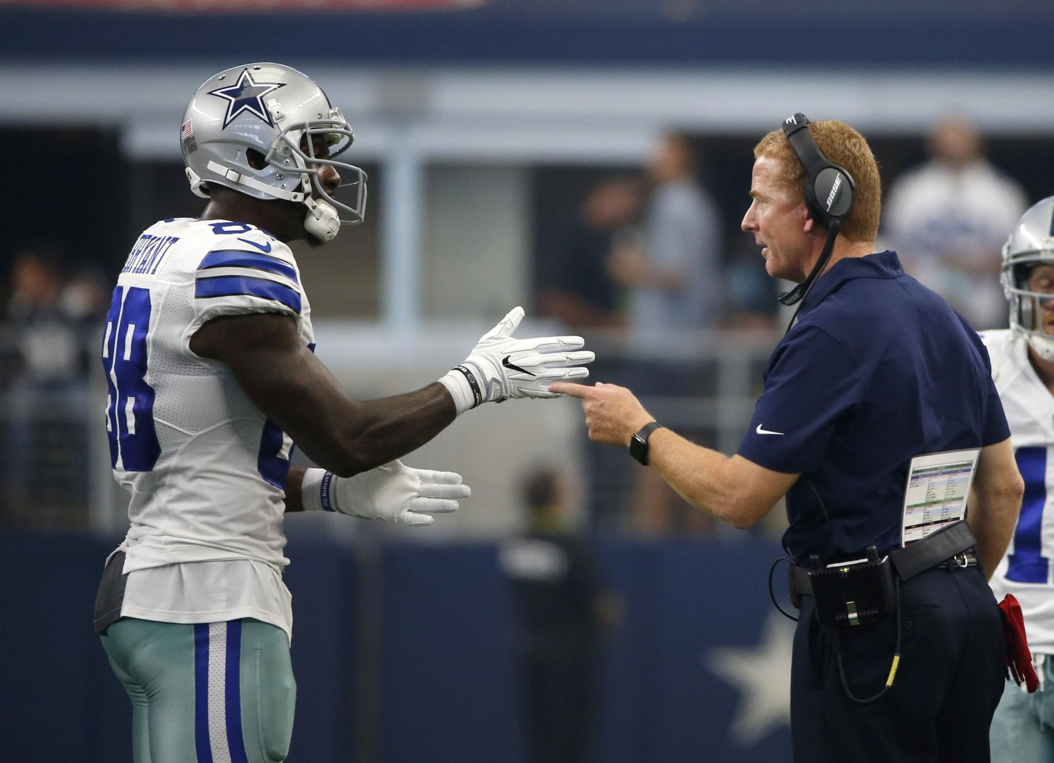 Dez Bryant said he sliced finger cutting carrots in extremely