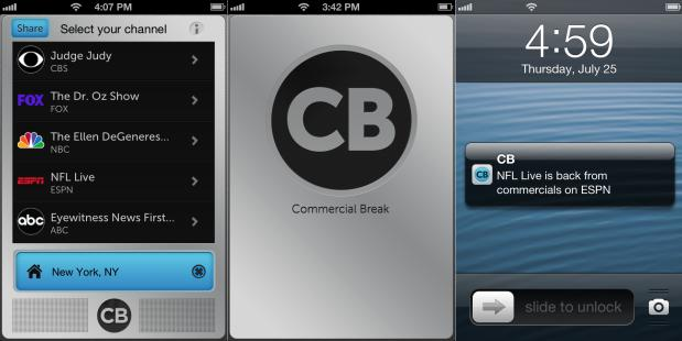 Commercial Break: an app that tells you exactly when the ads are over