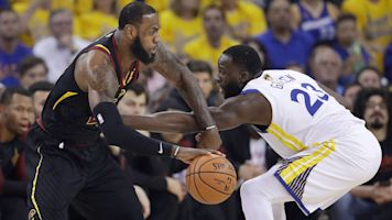 Draymond will miss facing LeBron in Finals