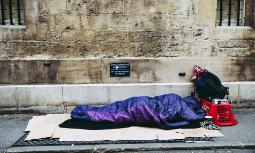 Thousands of young people face homeless Christmas, charity says