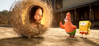 How Keanu Reeves joined the 'SpongeBob' Universe