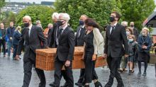 Nobel laureate John Hume laid to rest in N.Ireland