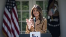 Melania Trump flew to New York for 'meetings,' skipping the president's birthday