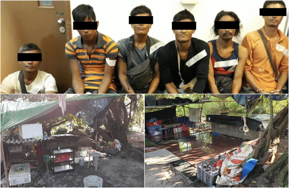 6 Myanmar nationals claiming to be grave diggers caught by ICA officers at Choa Chu Kang cemetery