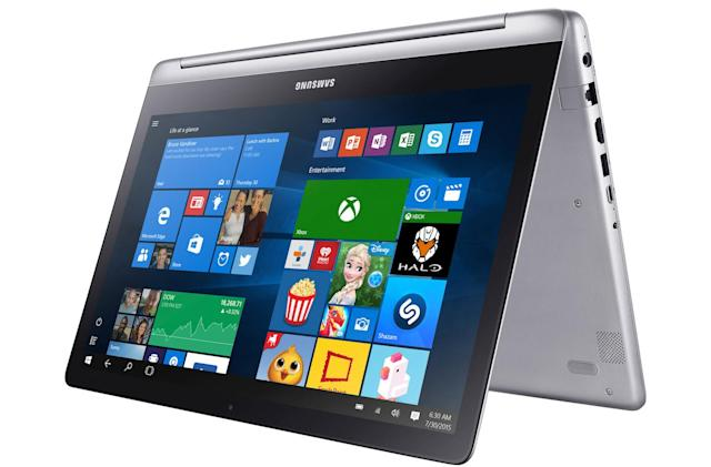 Spin Samsung's Notebook 7 screen right round on June 26th