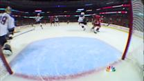 Shaw feeds Keith on the 2-on-1 break