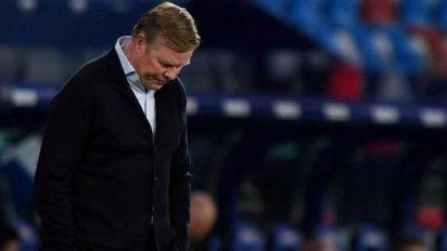 Foot - ESP - Barça - Ronald Koeman (Barça): «Maintenant, c'est très compliqué» pour le titre