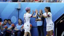 Megan Rapinoe, Christen Press make TV show rounds confident in equal pay case in court