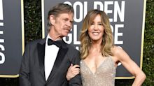 'She doesn't look like herself': Trolls are slamming Felicity Huffman's Golden Globes look