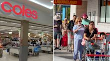 Coles among 17 new Covid hotspots as lockdown begins