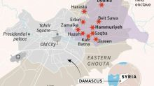 Five-day assault on Syria enclave kills more than 400