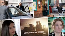 Next week on 'Coronation Street': Peter and Carla's wedding day crisis, plus Tyrone makes his choice (spoilers)