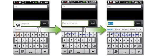 T9 Trace lets you Swype through your text messages