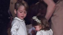 Prince George and Princess Charlotte Steal the Spotlight at Pippa Middleton's Wedding