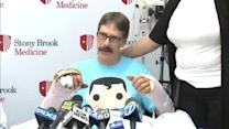 Long Island man's hands reattached after accident