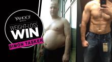 After an addiction to Hobnob cookies almost killed him, Simon Tasker lost 77 pounds on the 'divorce diet'