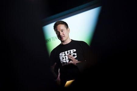 Finnish game company Supercell Co-Founder and CEO Ilkka Paananen meets the press in the company's headquarters in Helsinki, Finland June 21, 2016. Lehtikuva/Seppo Samuli/via REUTERS