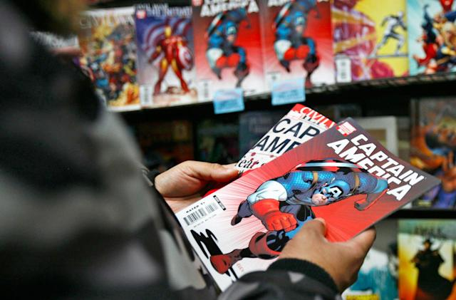 Marvel joins Madefire's digital comic book collection