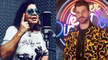 Roberta Miranda aponta que trabalho de DJ é 'apertar o botão' e Alok responde: 'Tem muito preconceito'