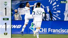 Portland Timbers allow second consecutive stoppage time equalizer, draw Seattle